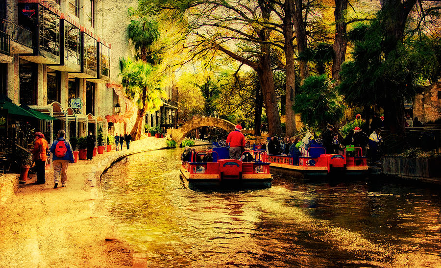 Boats Photograph - The Ride by Iris Greenwell