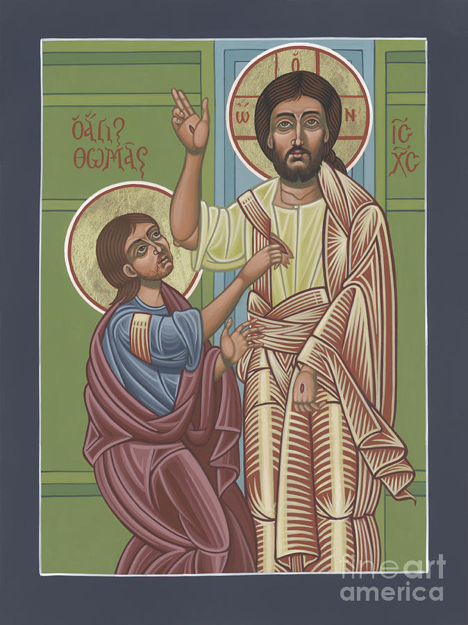Jesus Painting - The Risen Lord Appears To St Thomas 257 by William Hart McNichols