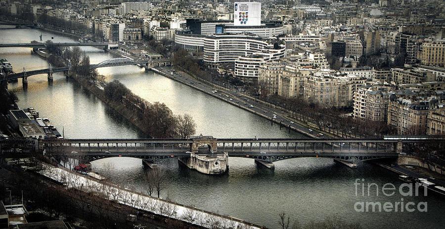 The River Seine - Paris Photograph