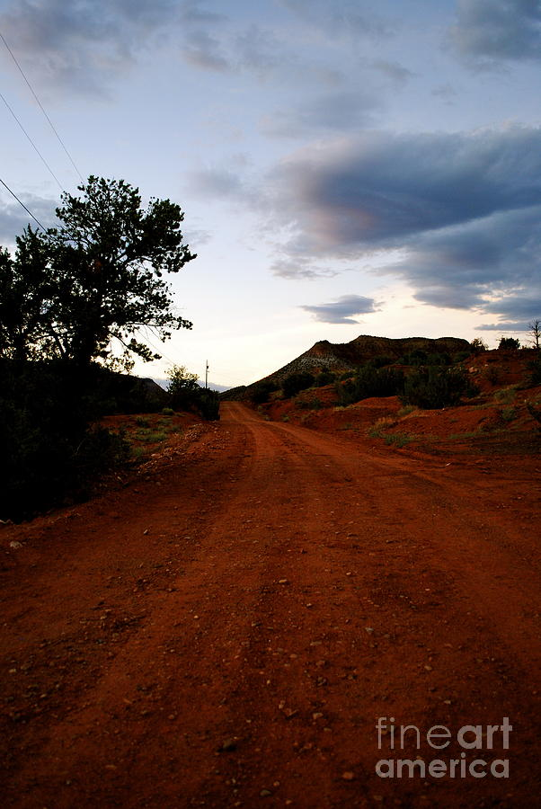 Southwest Photograph - The Road Ahead by Wendy Girard
