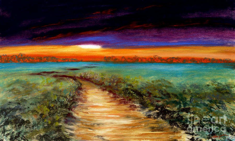 Painting Painting - The Road Home by Addie Hocynec