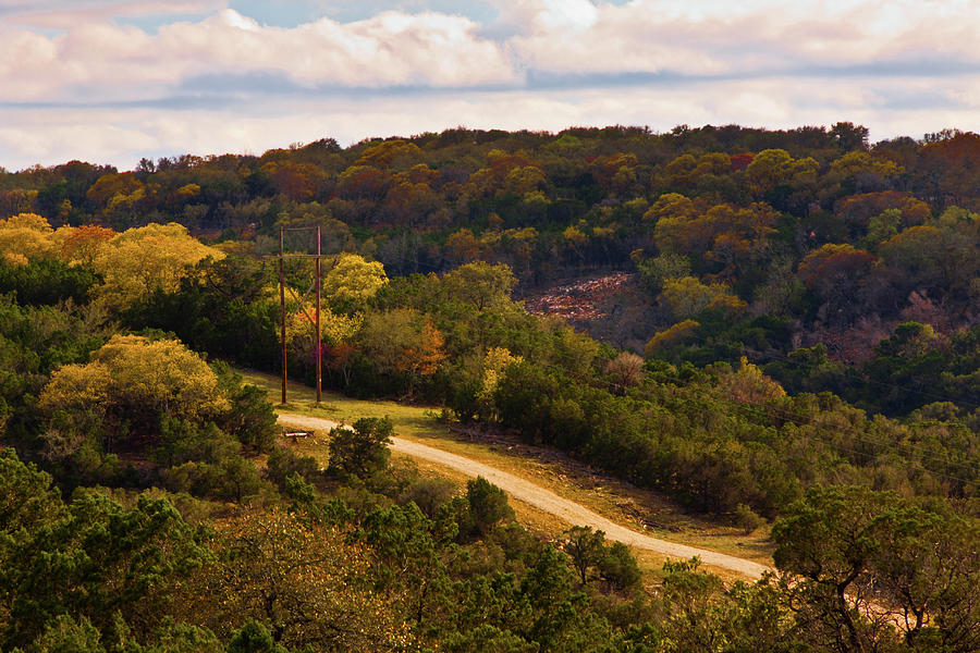 Landscape Photograph - The Road Less Traveled by Jill Smith