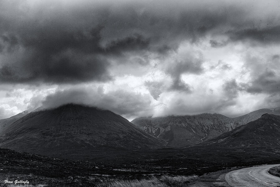 Mountains Photograph - The Road To Elgol by Fran Gallogly