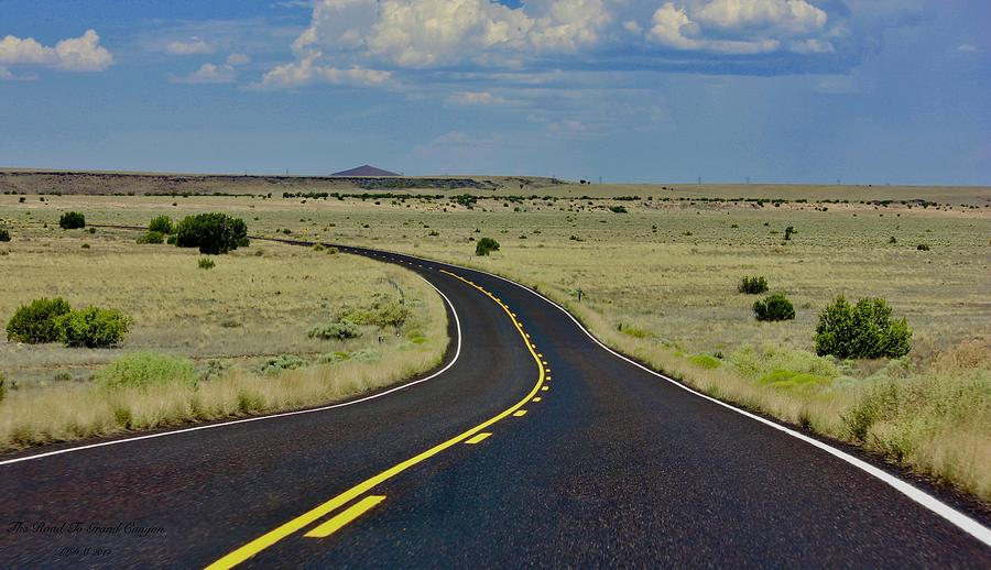 The Road To Grand Canyon Photograph