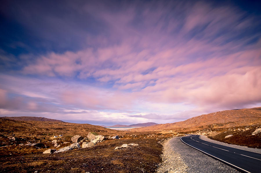 The road to Luskentyre by Neil Alexander Photography