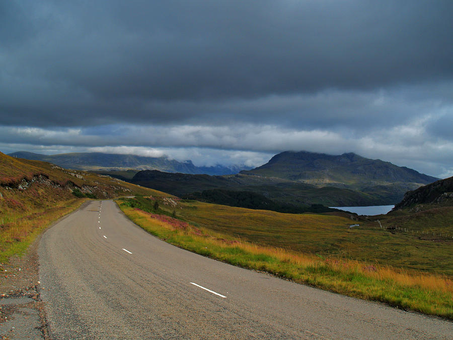 Road Photograph - The Road To Poolewe by Steve Watson