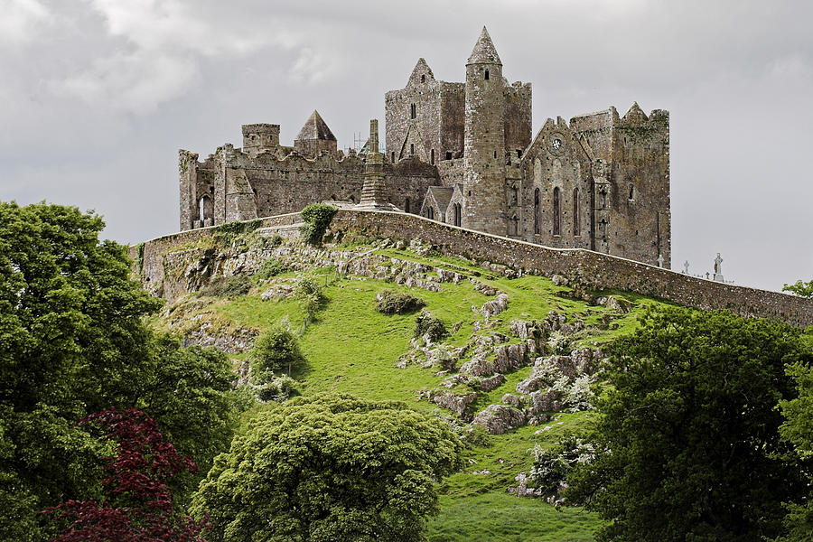 Ruin Photograph - The Rock Of Cashel Ireland In Summer by Pierre Leclerc Photography