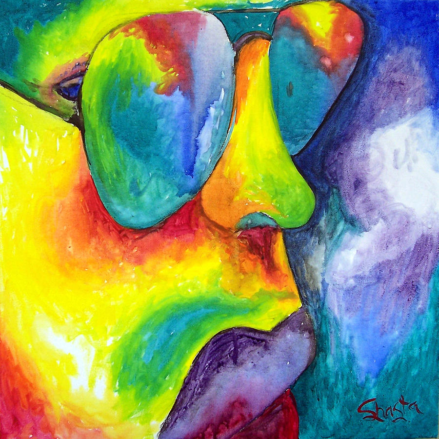 The Rock Star Painting by Shasta Miller