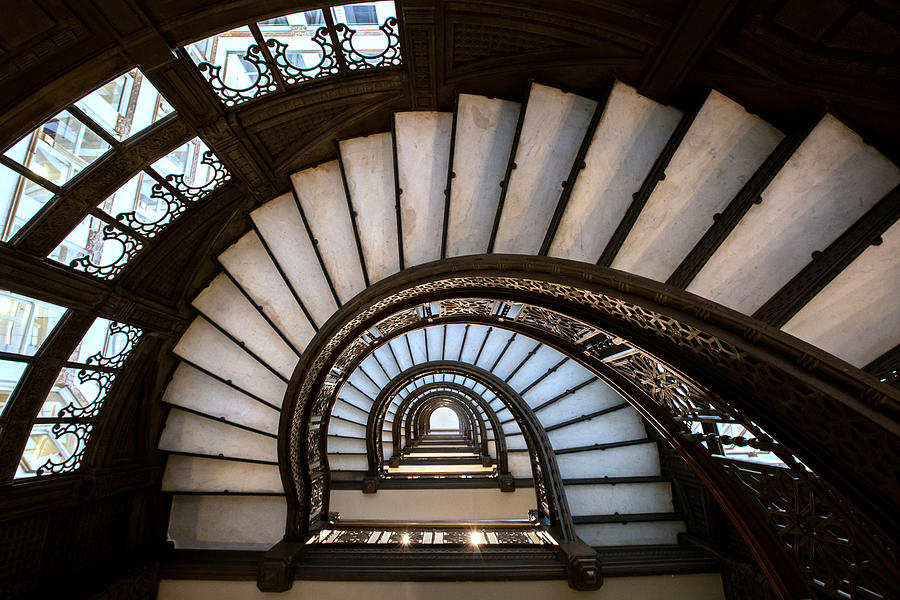 Chicago Photograph - The Rookery - Chicago by Ryan Smith