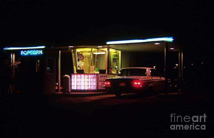 Commercial Photography Atlanta Photograph - The Roosevelt Drive Inn by Corky Willis Atlanta Photography
