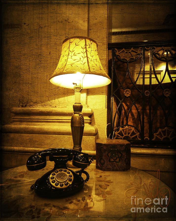 Phone Digital Art - The Roosevelt Hotel by David Francey