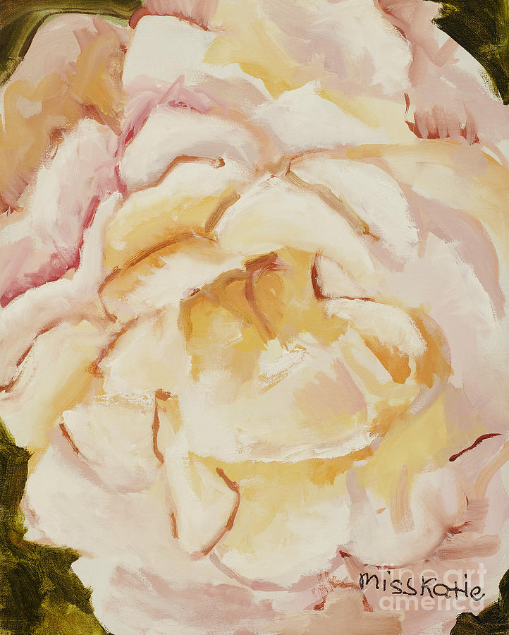 Bloom Painting - The Rose by Katie OBrien - Printscapes