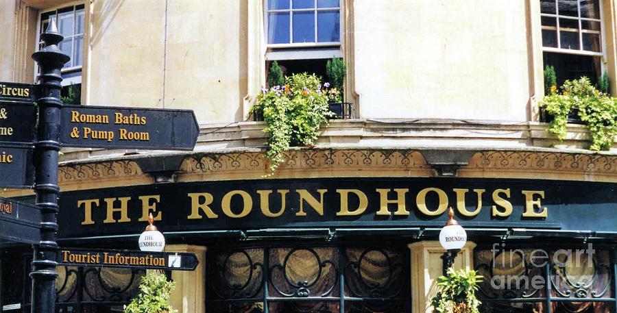 The Roundhouse Pub Bath England Photograph