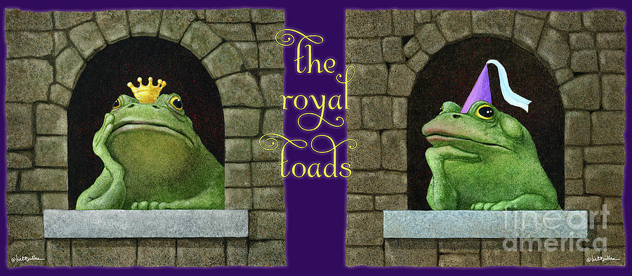 Will Bullas Painting - The Royal Toads... by Will Bullas