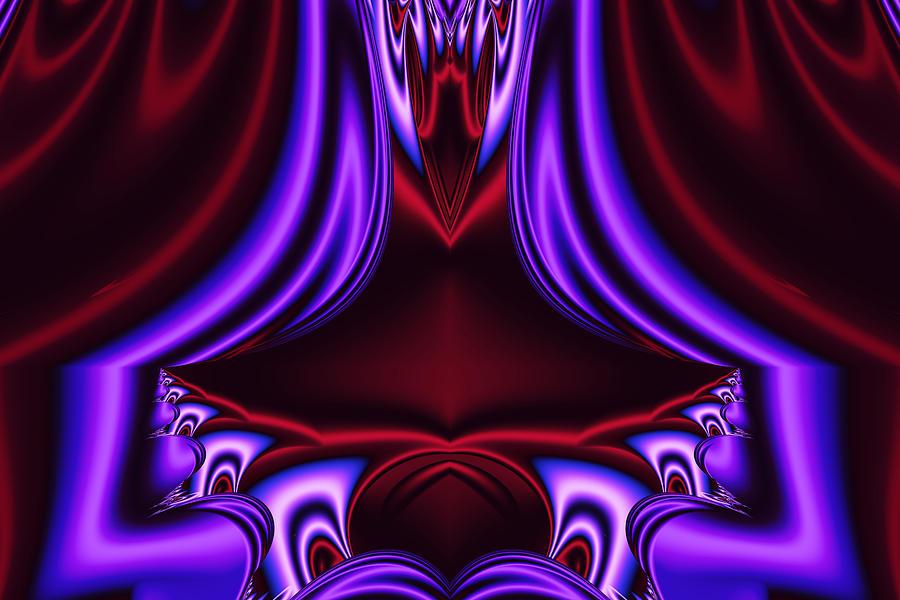 The Rubicund Throne Digital Art by Myxtl Turnipseed