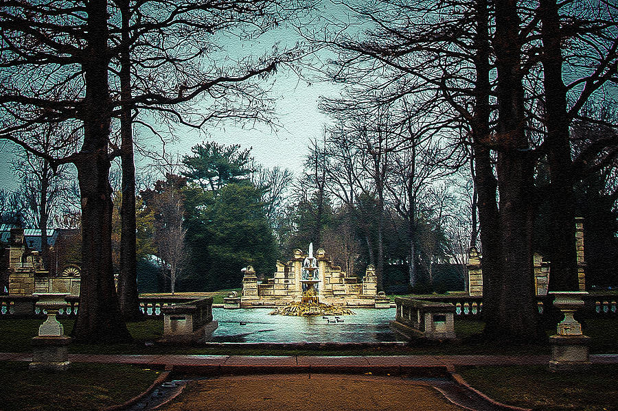Tower Grove Park Photograph - The Ruins by Kristy Creighton