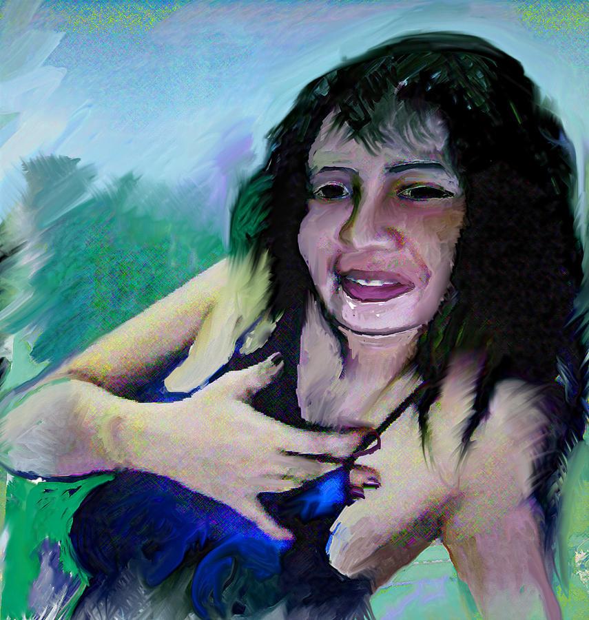 Lie Painting - The Rumor by Noredin Morgan