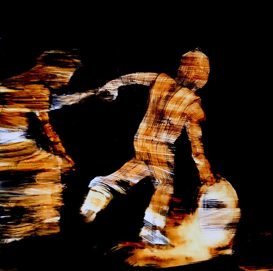 The Run Drawing by Kristo Nicolas