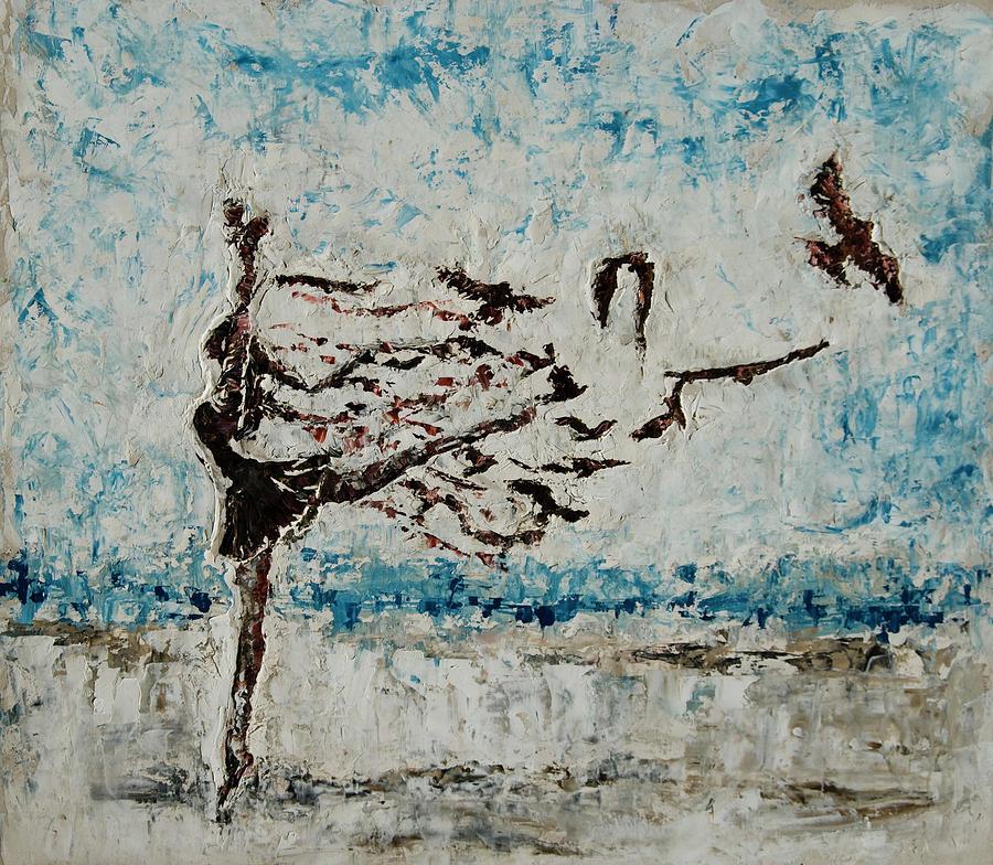 Ballerina Painting - The Rush by Tatiana Ilieva