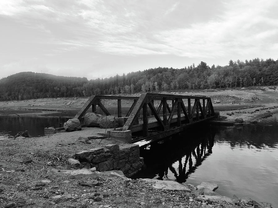 The Rusted Bridge Photograph by Eric Radclyffe