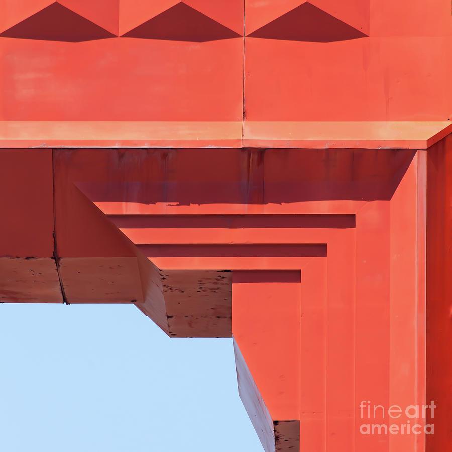 The San Francisco Golden Gate Bridge 5d2990sq by San Francisco Art and Photography
