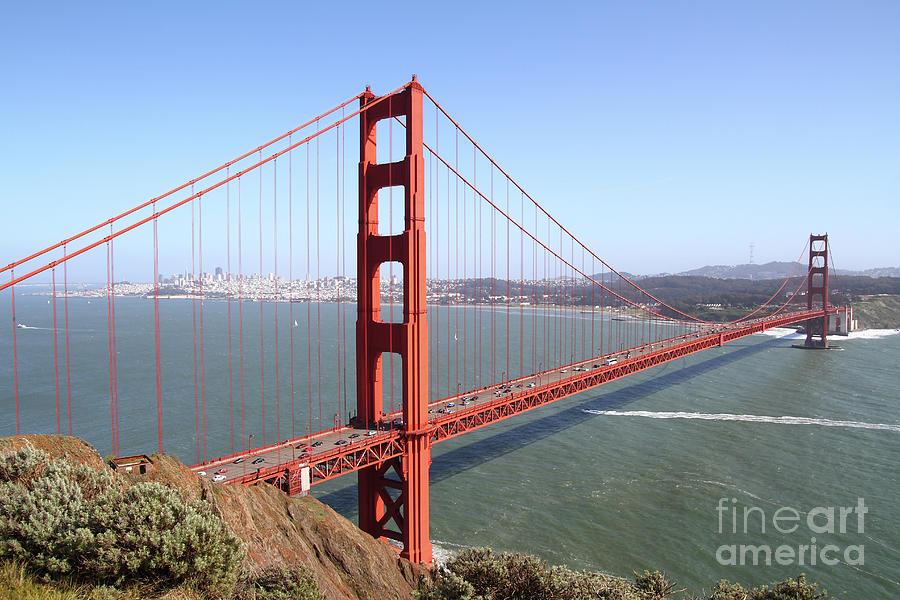 The San Francisco Golden Gate Bridge 7D14507 by San Francisco Art and Photography