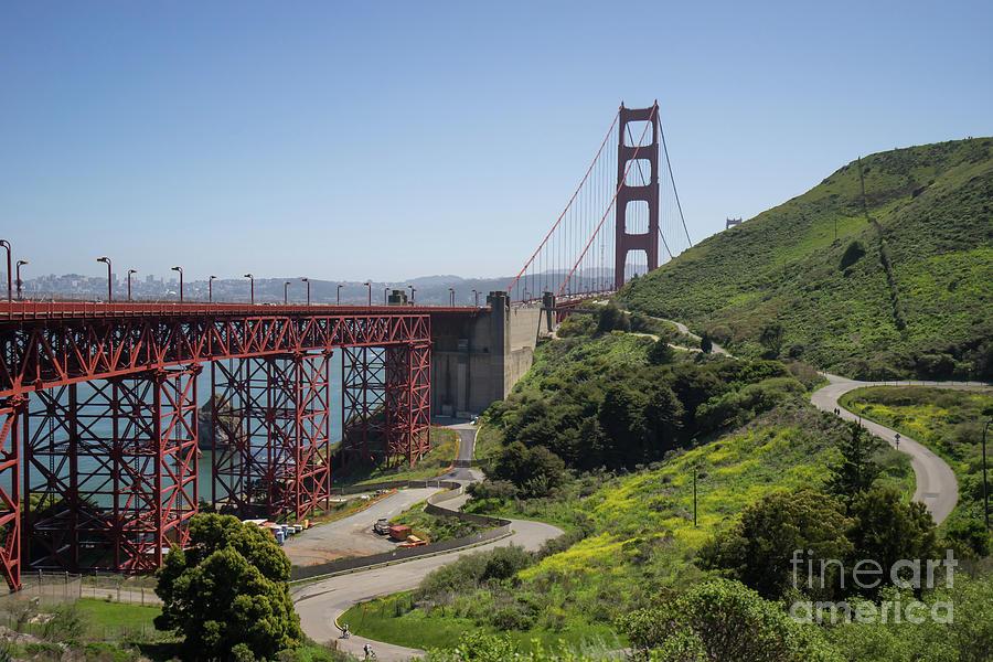 The San Francisco Golden Gate Bridge DSC6139 by San Francisco Art and Photography