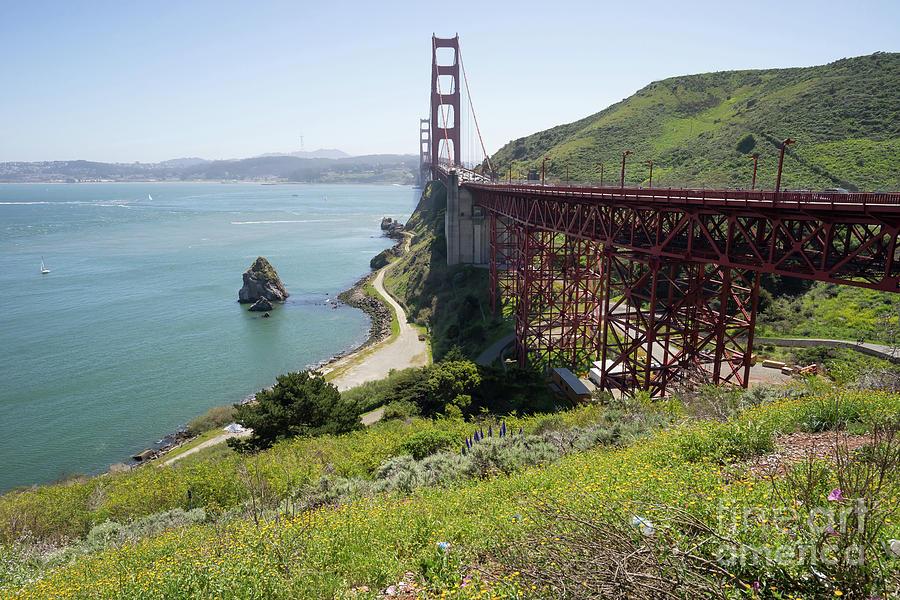 The San Francisco Golden Gate Bridge DSC6146 by San Francisco Art and Photography
