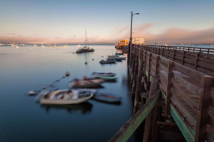 San Luis Opisbo Photograph - The San Luis Pier by Jonathan Nguyen