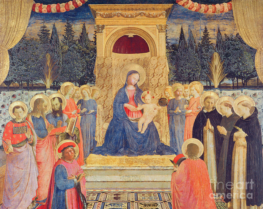 The San Marco Altarpiece Painting By Fra Angelico