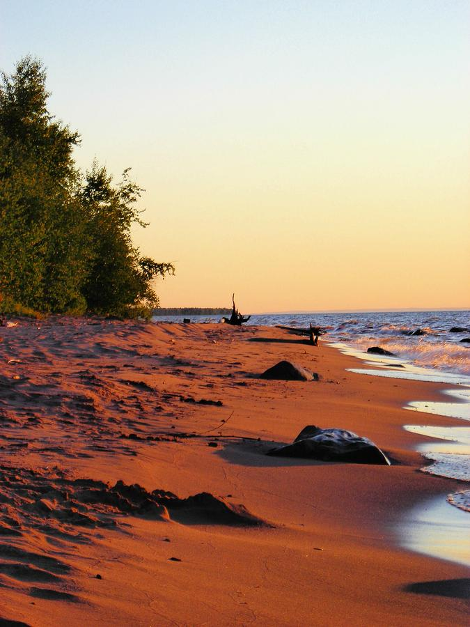 Beach Photograph - The Sands of Dusk by Peter Mowry
