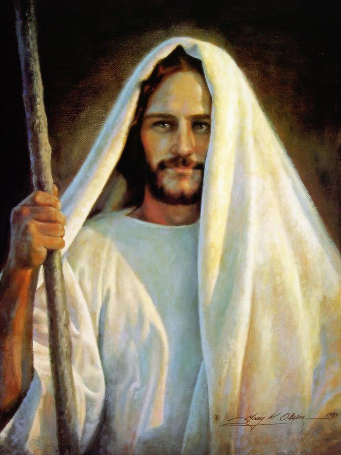 Jesus Painting - The Savior by Greg Olsen
