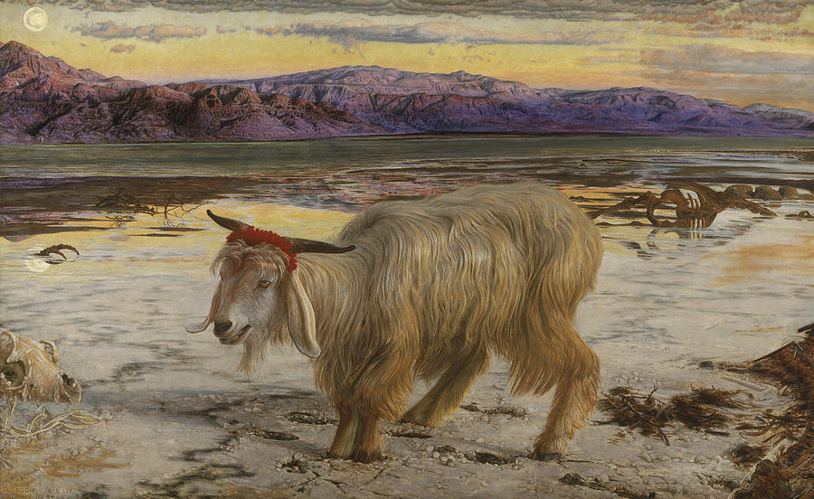 William Holman Hunt Painting - The Scapegoat by William Holman Hunt