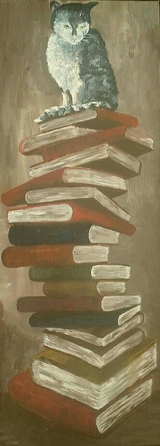The Scholar  Painting by Alan Kennedy