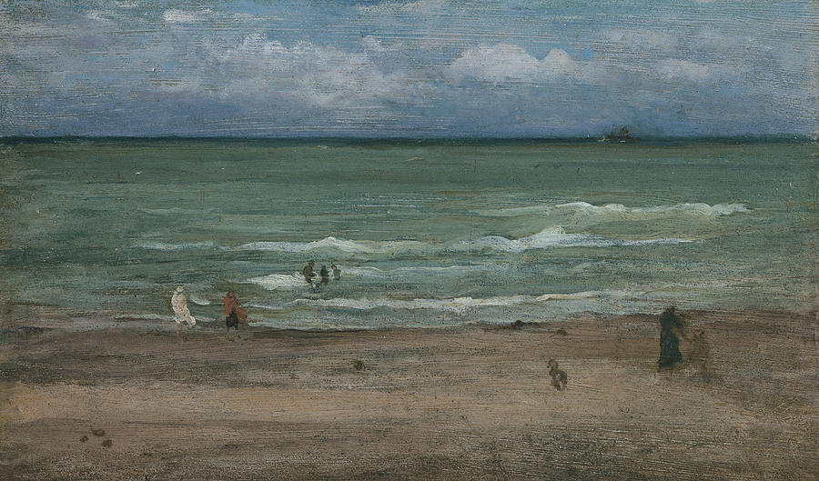 Sea Painting - The Sea by James Abbott McNeill Whistler