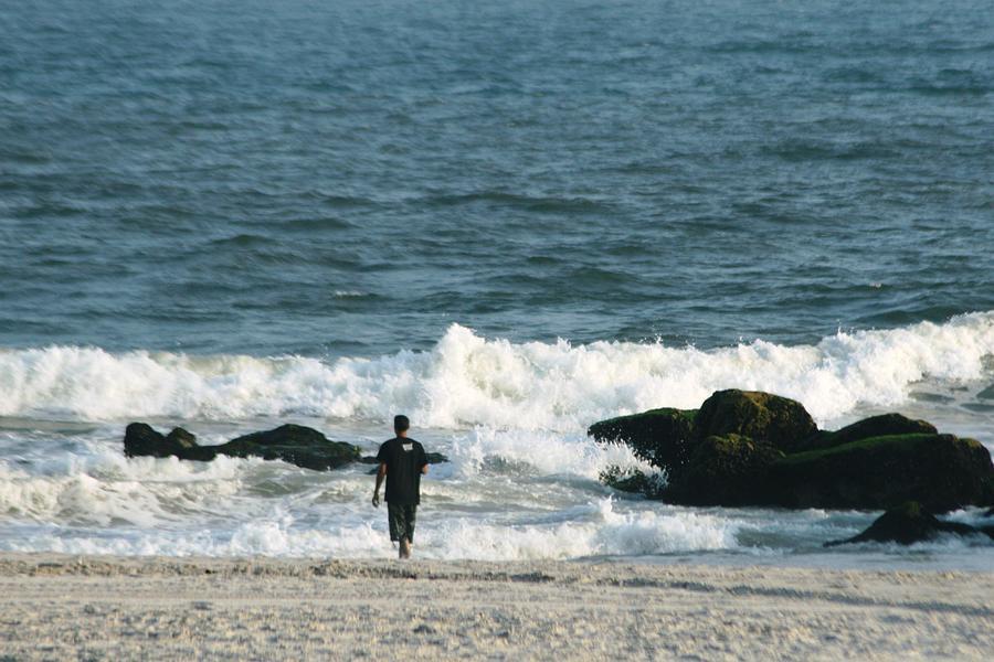Sea Photograph - The Sea  by Paul SEQUENCE Ferguson             sequence dot net
