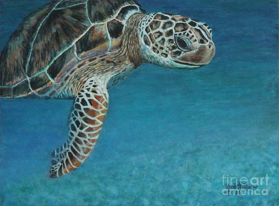 The Giant Sea Turtle by Bob Williams