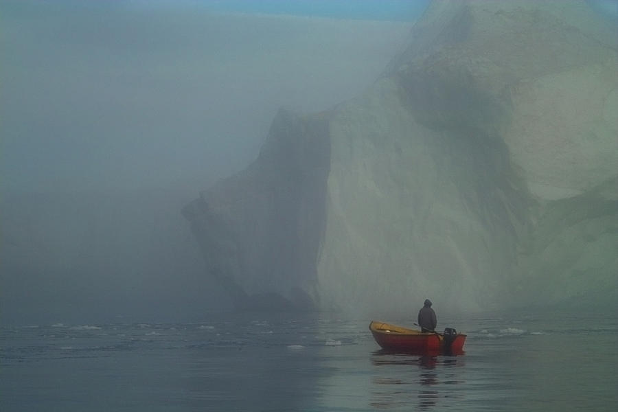 Greenland Photograph - The Sealhunter by Robert Lacy
