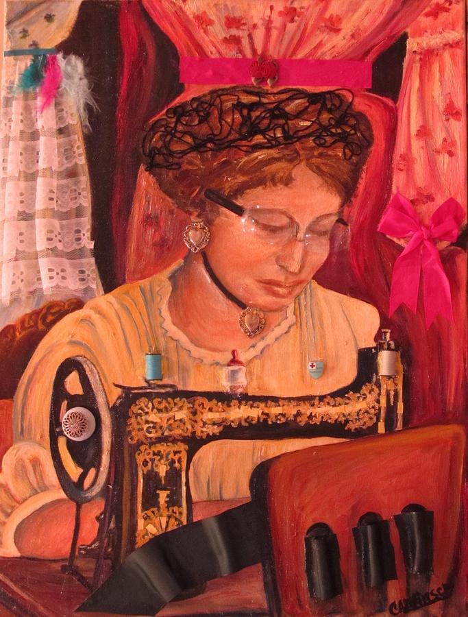 The Seamstress by Carol Allen Anfinsen