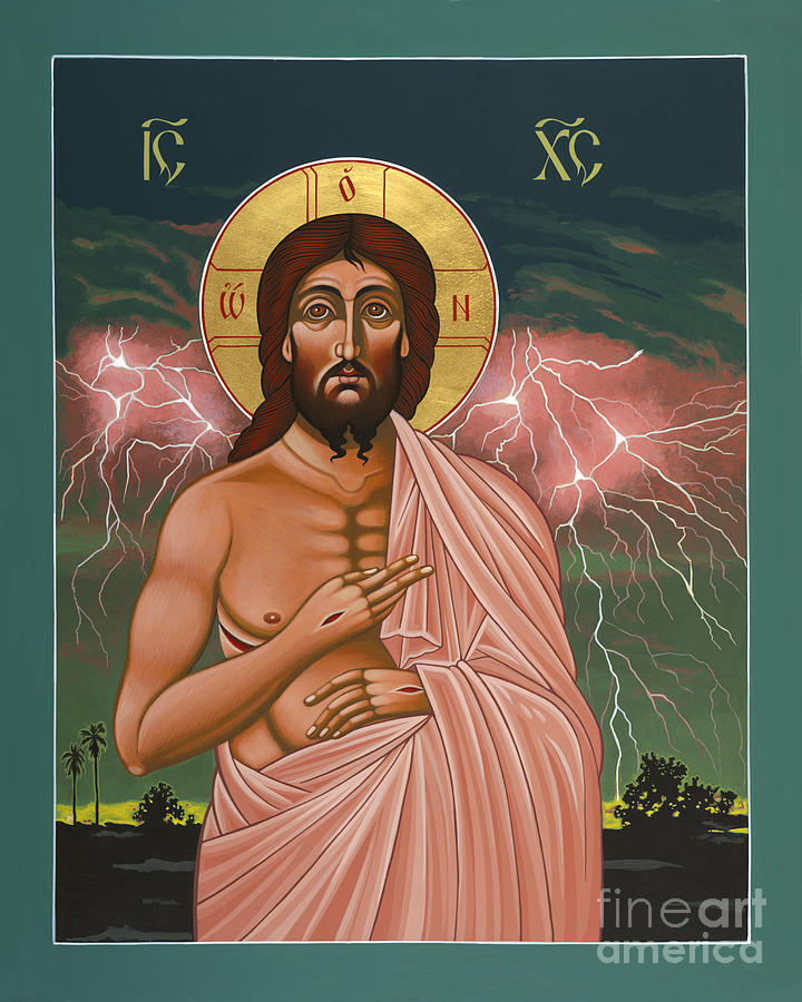 Icon Painting - The Second Coming of Christ the King 149 by William Hart McNichols
