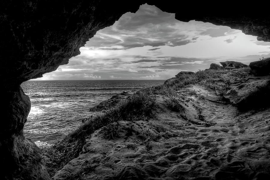 Alone Photograph - The Secret Cave by Natasha Bishop