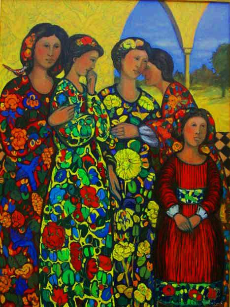 The Secret Painting by Marilene Sawaf