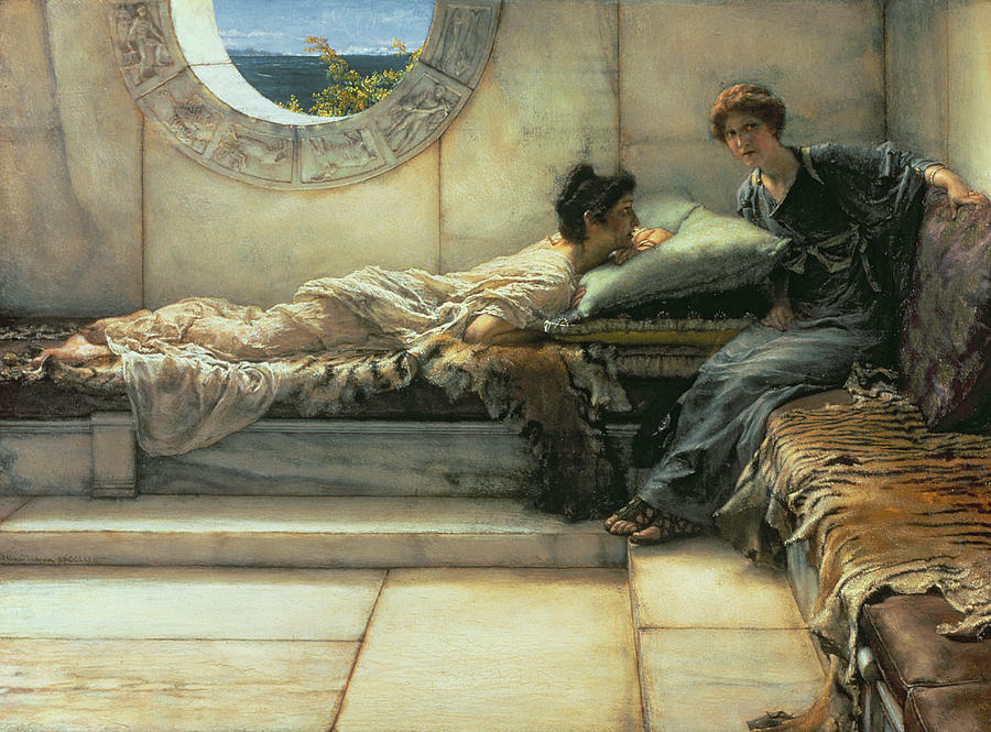 The Secret Painting By Sir Lawrence Alma Tadema