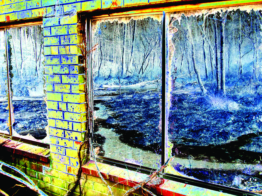 Landscape Photograph - The Secret Window by Kimmary MacLean