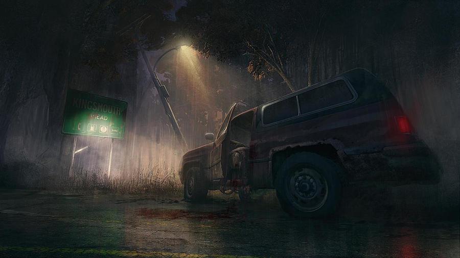 Truck Digital Art - The Secret World by Dorothy Binder