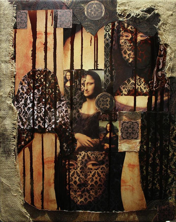 Mona Lisa Mixed Media - The Secrets Of Mona Lisa by Michael Kulick