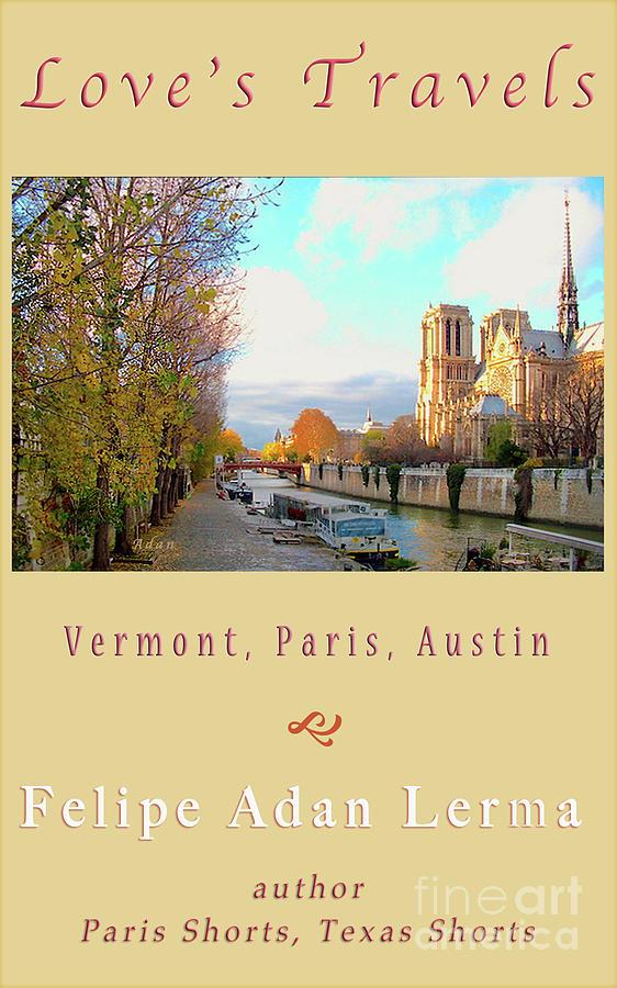 Notre Dame Photograph - The Seine And Quay Beside Notre Dame, Autumn Cover Art by Felipe Adan Lerma