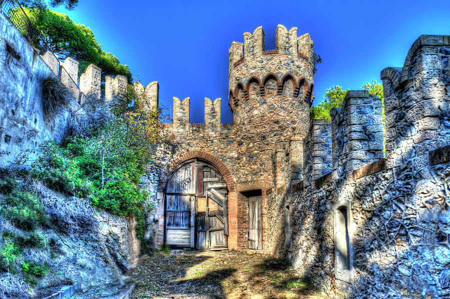 Abandoned Places Photograph - The Senator Castle - Il Castello Del Senatore by Enrico Pelos