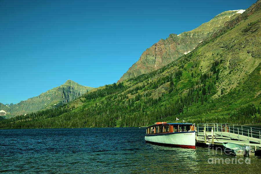 The Senopah Two Medicine Lake Glacier National Park Photograph