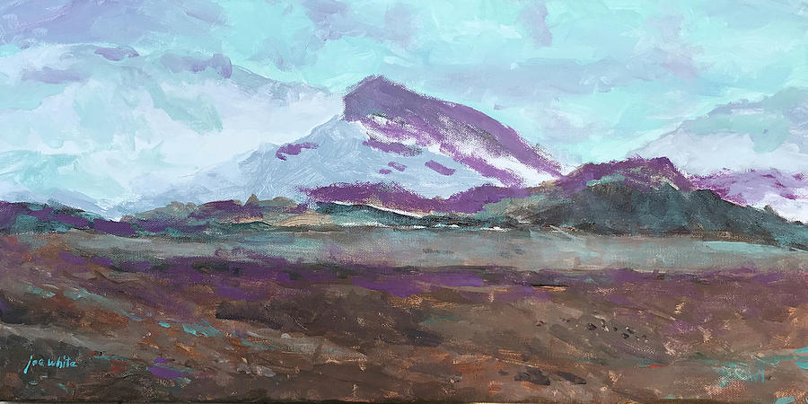 Mountain Painting - The Sentinel by Joe White